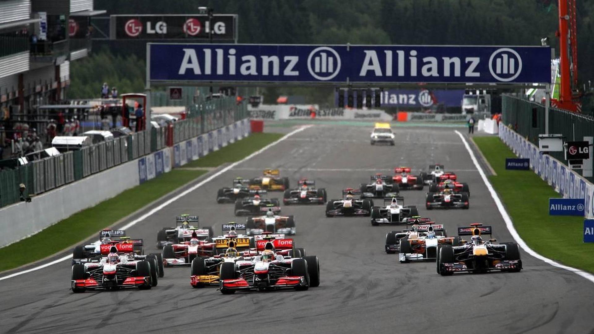 Massa had head-start on Belgian GP grid