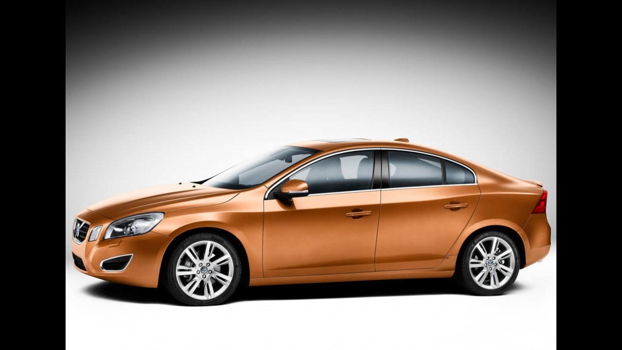 Volvo S60 2011 - Divulgadas as primeiras imagens oficiais