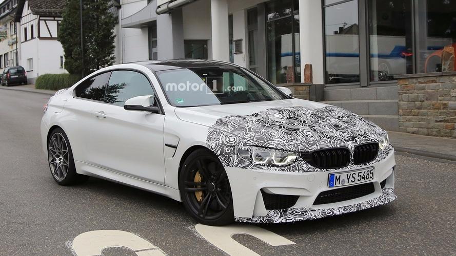 Photos espion - La BMW M4 restylée embarquerait des feux arrière OLED ?