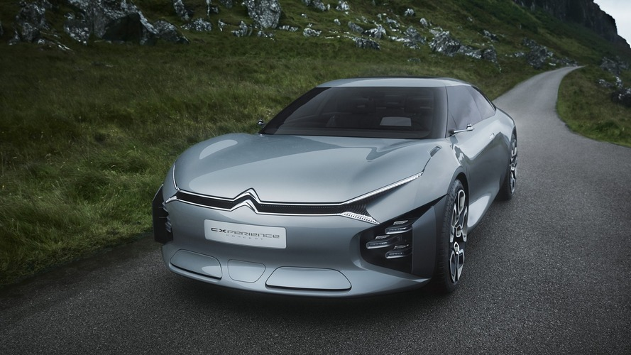 Citroen Cxperience Concept shows bold look for potential plug-in flagship