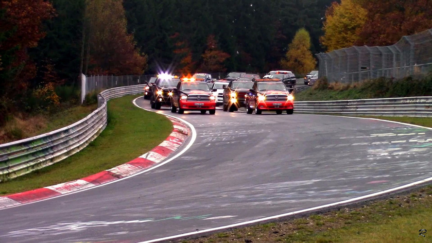 The most unlikely vehicle set a world record at the Nurburgring