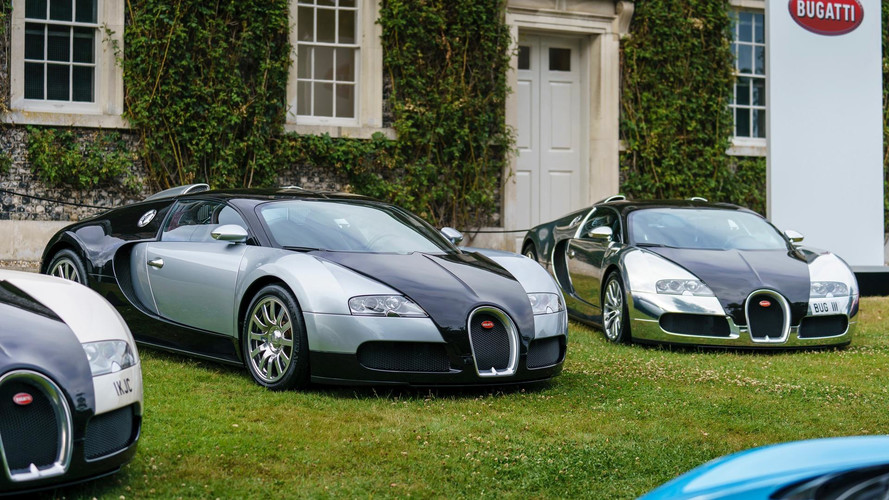 Bugatti Brings Nearly 10,000 HP To Goodwood