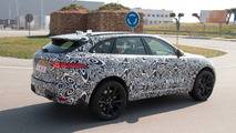 Jaguar F-Pace SVR Spy Shots
