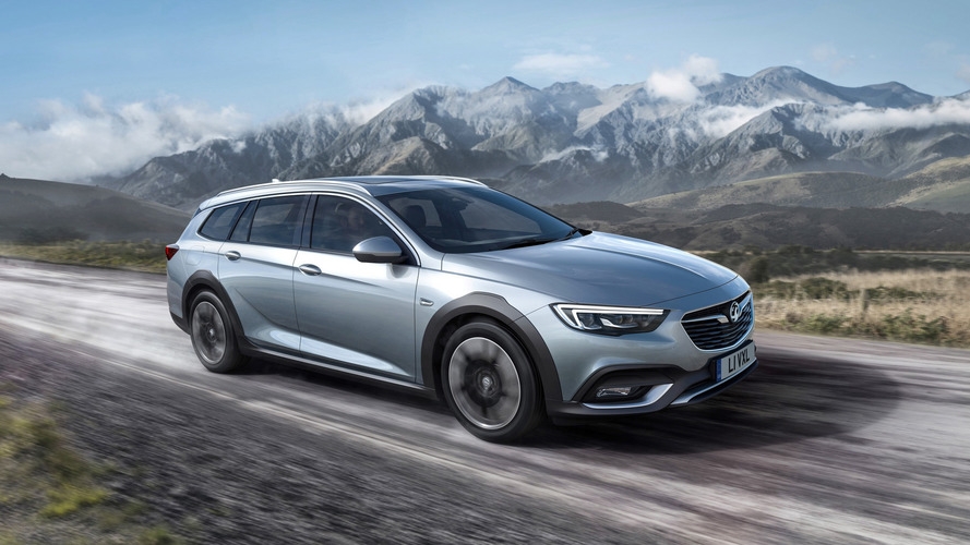 New Vauxhall Insignia Country Tourer 'Allroad Estate' Revealed