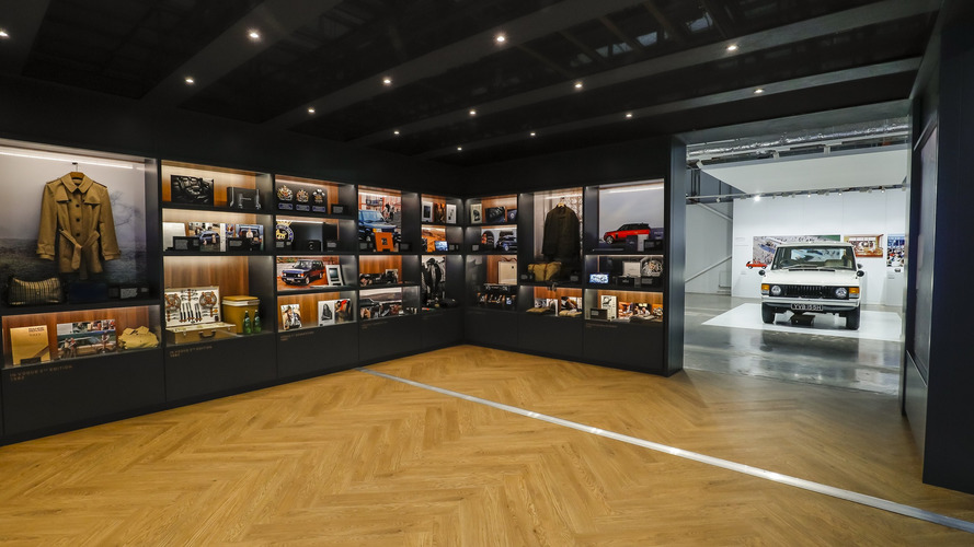 Land Rover Launches 'The Range Rover Story' Exhibit At HQ