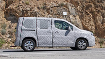 2018 Peugeot Partner spy photo