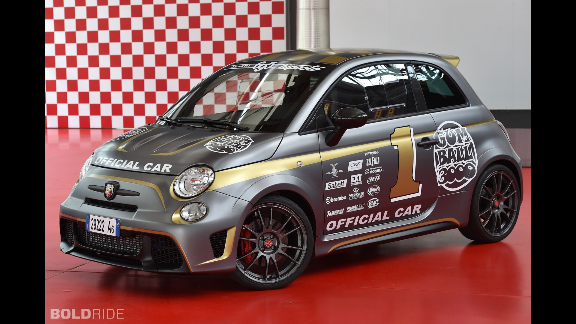 fiat abarth 695 biposto gumball 3000. Black Bedroom Furniture Sets. Home Design Ideas