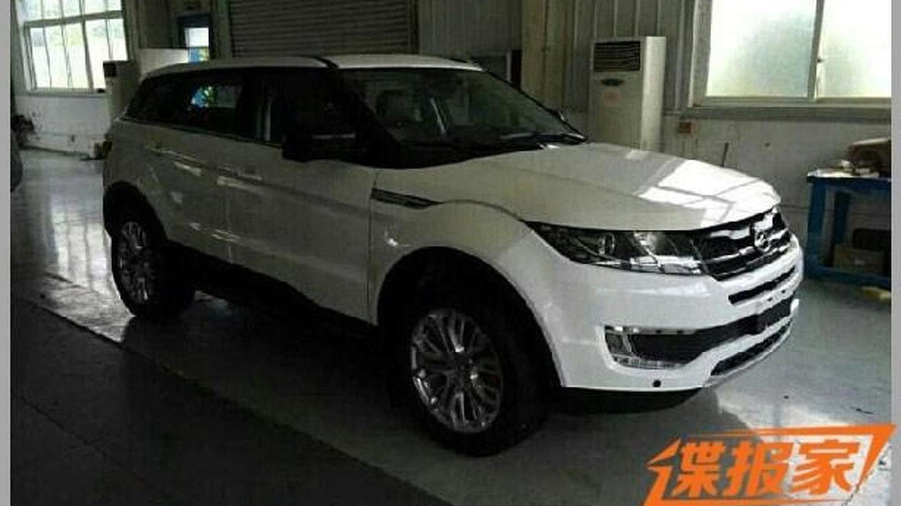 range rover evoque lookalike from china returns in live pics. Black Bedroom Furniture Sets. Home Design Ideas