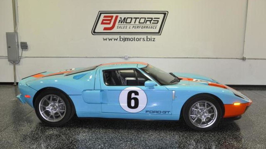 2006 Ford GT Heritage limited edition driven for 11 miles listed on eBay