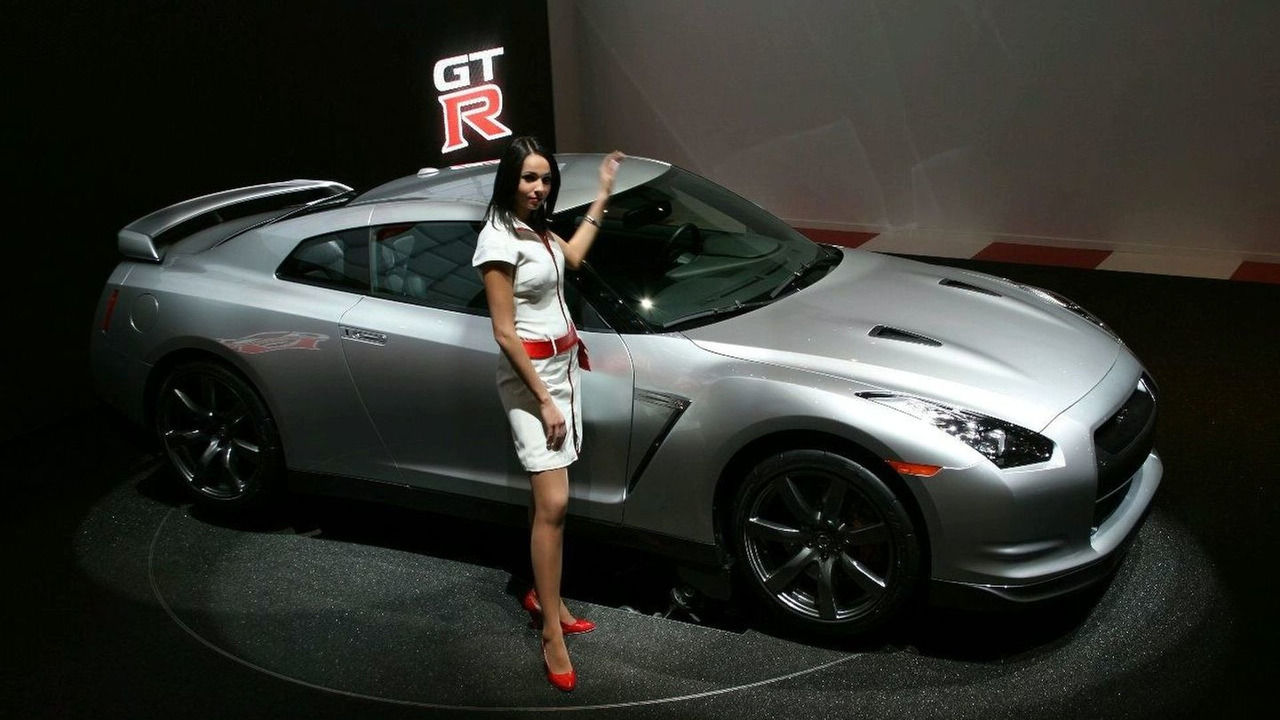 Nissan GT-R at Geneva