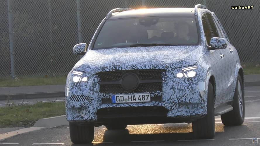 2019 Mercedes GLE Spied Testing In Two Different Specifications