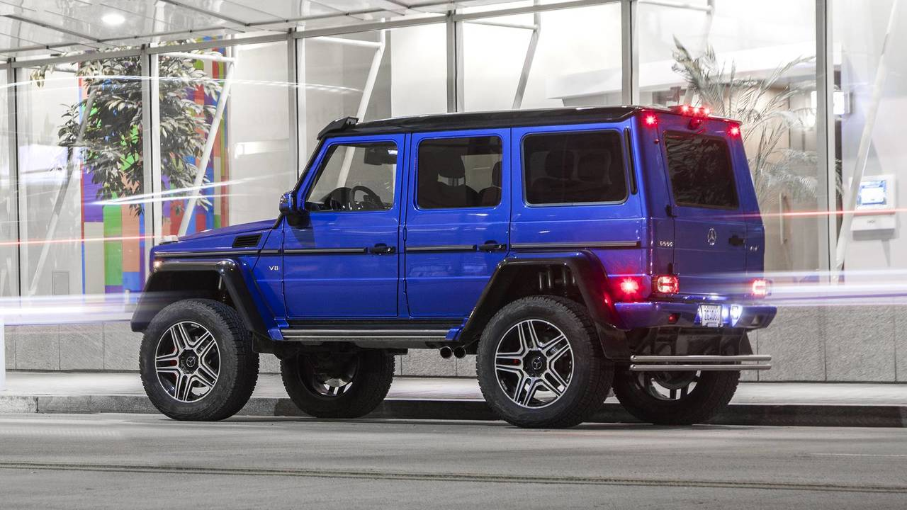 2017 mercedes benz g550 4x4 squared review photo for Mercedes benz 4x4 squared