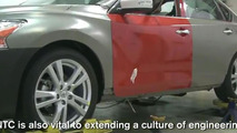 2013 Nissan Altima promo video screen shot 28.2.2012