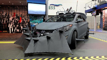 Hyundai Elantra Coupe Zombie Survival Machine officially revealed