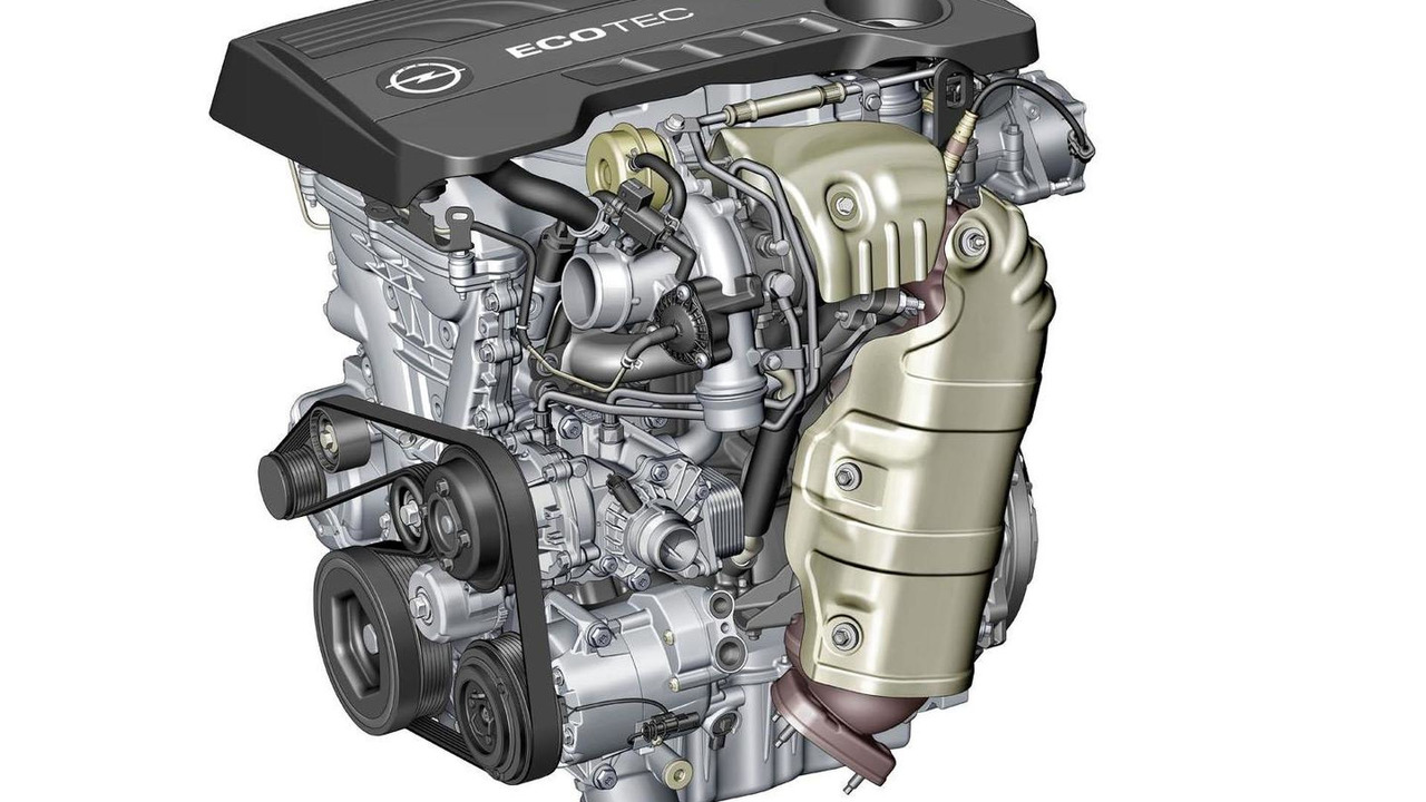 Opel / Vauxhall turbocharged 1.6-liter four-cylinder ECOTEC engine 14.5.2012