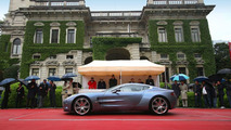 Aston Martin one-77 at Concorso d'Eleganza
