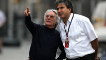 Ecclestone happy after visit to India F1 site
