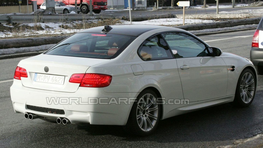 BMW M3 Coupe Latest Spy Photos Showing Facelift LED Tail Lamps