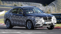 2014 BMW X4 spied testing at Nurburgring