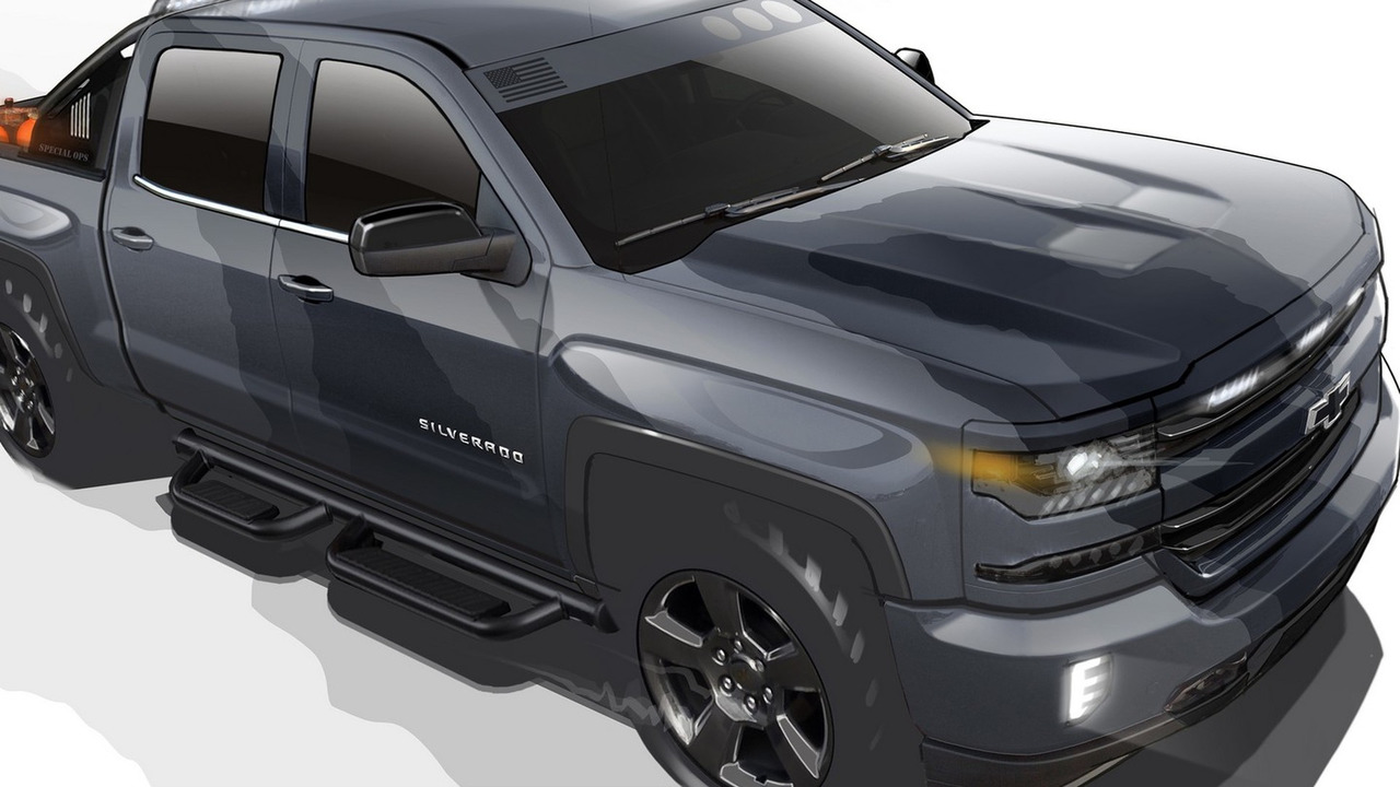 chevy silverado special ops concept going into production. Black Bedroom Furniture Sets. Home Design Ideas