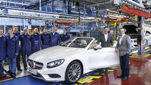 Mercedes S-Class Cabriolet production in Sindelfingen
