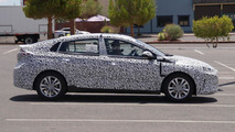 Hyundai dedicated hybrid spy photo