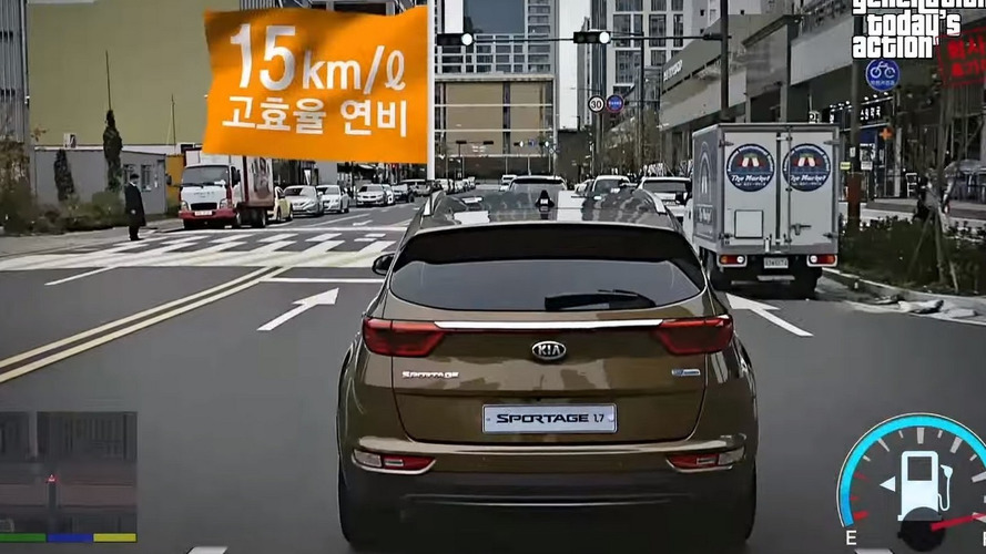 Kia Sportage GTA-themed ad is equally funny and weird [video]