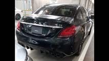 Mercedes-AMG C 43 photos espion