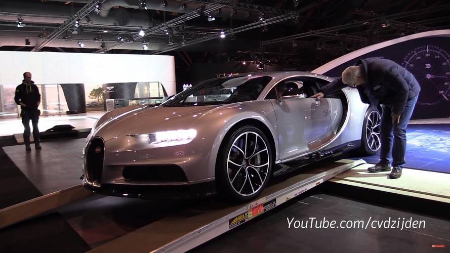 Watch The Bugatti Chiron Drive Off From The Brussels Motor Show