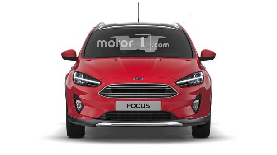 2019 Ford Focus Active render