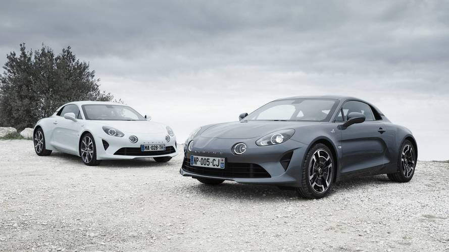 Alpine A110 Pure and Legende