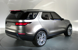 Land Rover Discovery Vision Concept Says