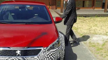 Peugeot CEO tweets two photos with 308 R HYbrid test mule