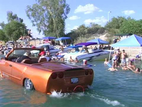 WaterCar - Amphibious Car Python Edition at Lake Havasu and Newport Beach CA