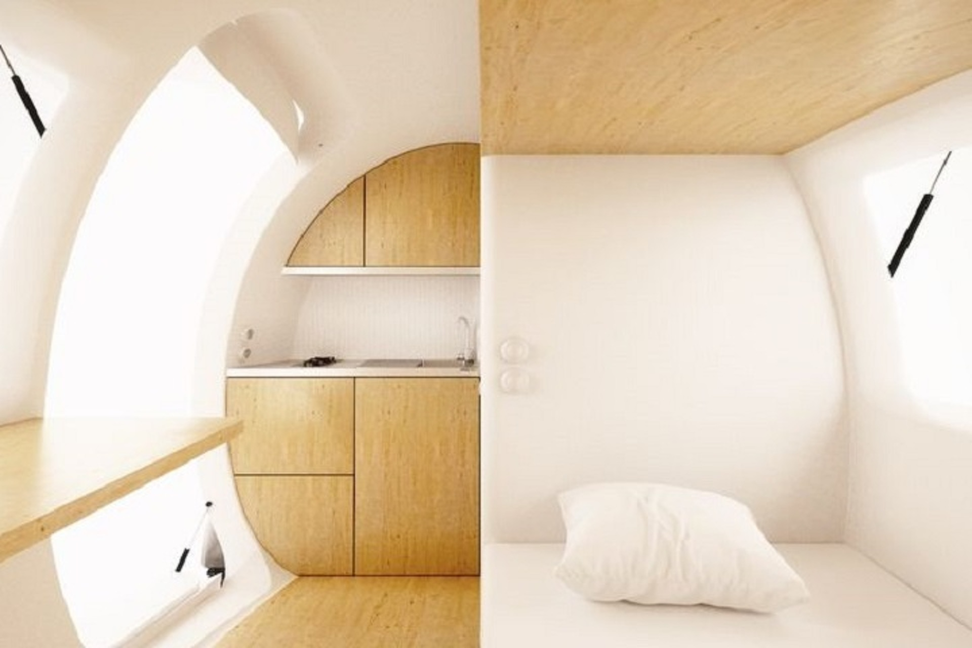 The Innovative Ecocapsule Lets You Live Completely Off the Grid