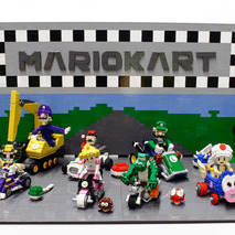 LEGO Mario Kart is Ridiculously Cool