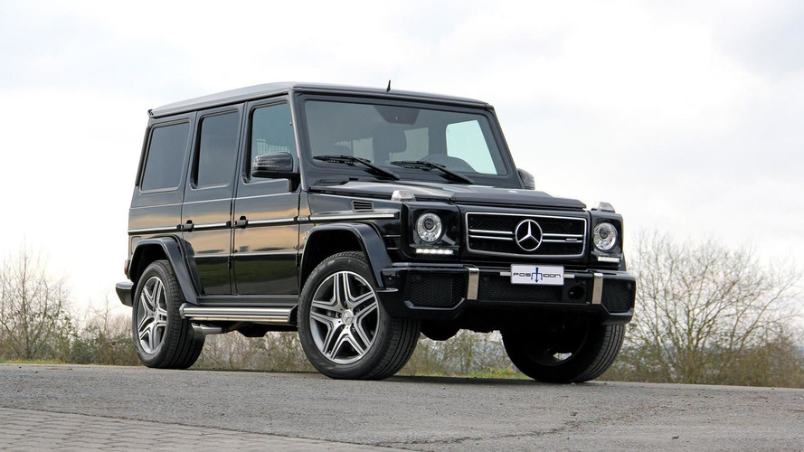 Mercedes-Benz G63 AMG upgraded to 830 HP and 1,350 Nm by Posaidon