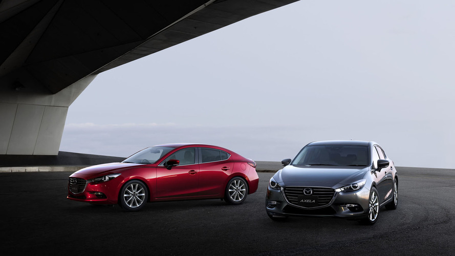 Mazda3 facelift revealed for Japan