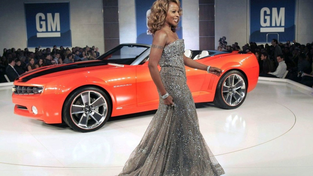 Mary J. Blige & Camaro Convertible Concept