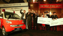 smart fortwo for the Detroit Fire Department