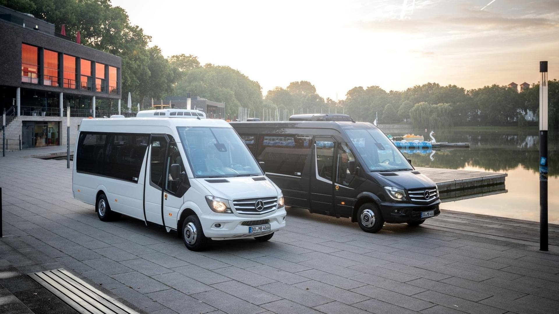 The minibuses based on the mercedes benz sprinter 2018 also gets to - The Minibuses Based On The Mercedes Benz Sprinter 2018 Also Gets To 31