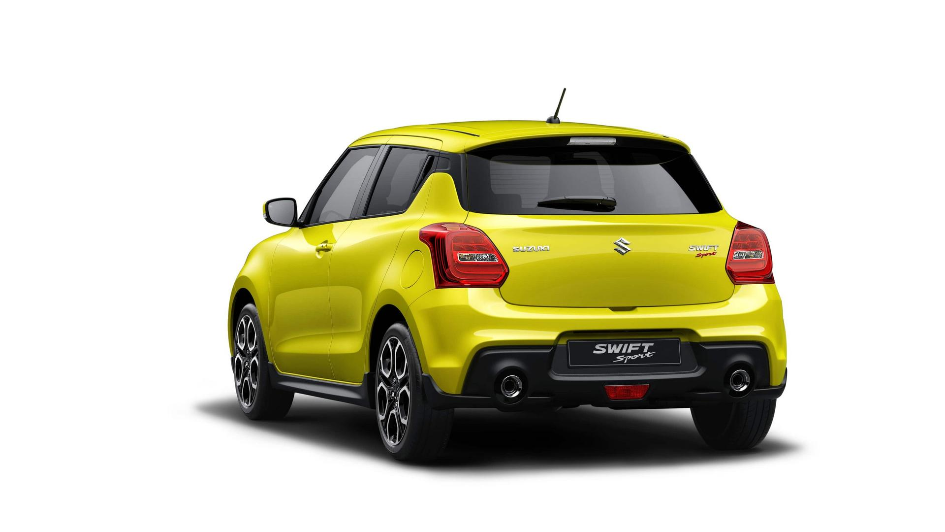 all new 2018 suzuki swift sport unveiled in frankfurt weighs just 970kg. Black Bedroom Furniture Sets. Home Design Ideas