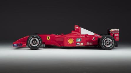 Schumacher Ferrari sets auction record – but is it art?