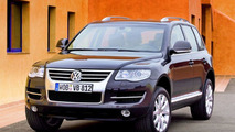 New VW Touareg Facelift: First Pictures