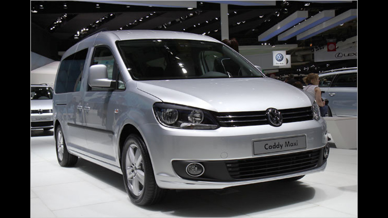 VW Caddy Facelift