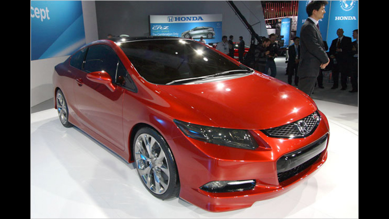 Honda Civic Si Concept coupe
