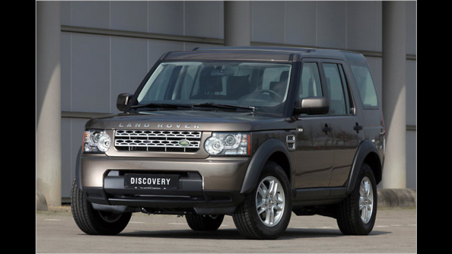 Land Rover Discovery Family: Das Sonder-Sparmodell