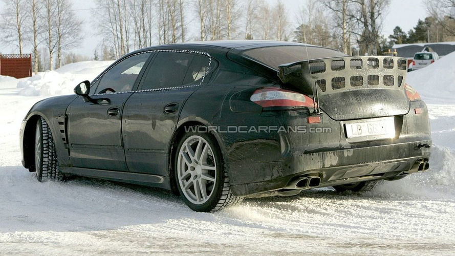 Porsche Panamera Entire Model Range Spied Together
