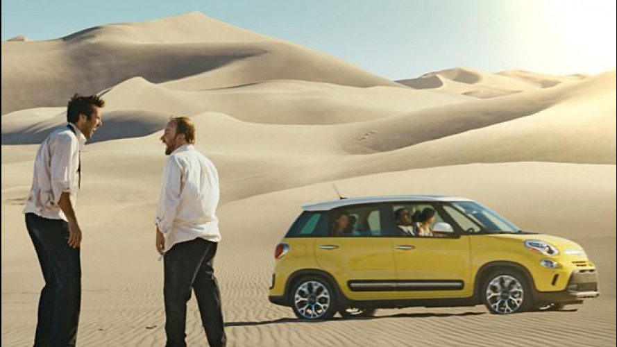 Fiat 500L, nel deserto con Puff Daddy [VIDEO]