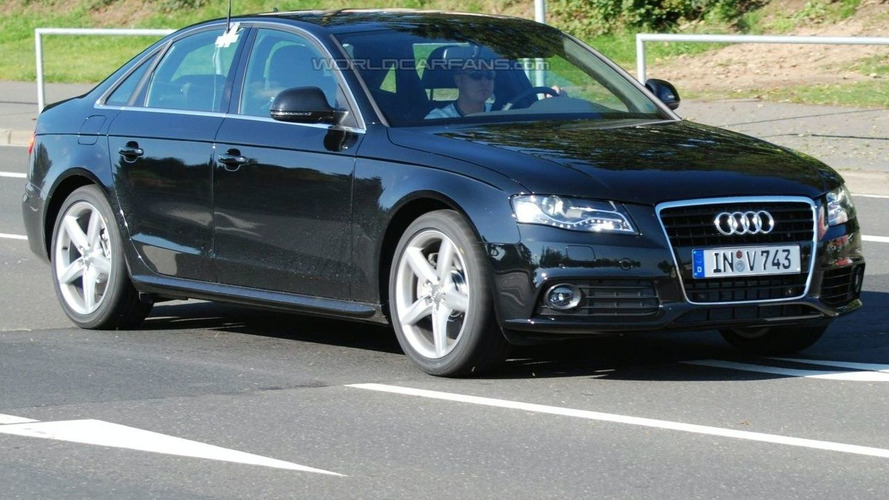 New Audi S4 Spied